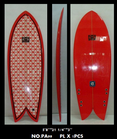 Retro Fish Radioactive Surfboards